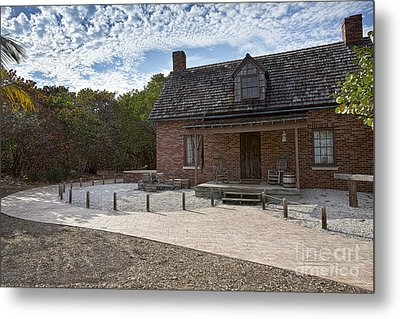 Old House At Bill Baggs Metal Print by Eyzen M Kim