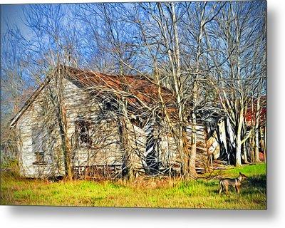 Old House Metal Print by Savannah Gibbs