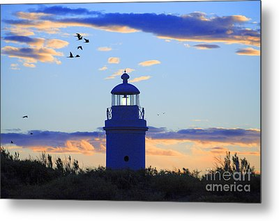 Old Lighthouse Metal Print by Bernardo Galmarini