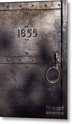 Old Lighthouse Door Metal Print by Eyzen M Kim