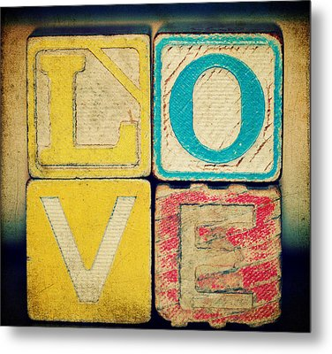 Old Love Metal Print by Robin Dickinson