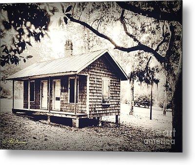 Old Masonboro Slave Cottage Metal Print