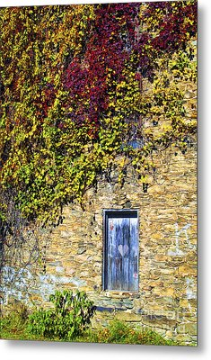 Old Mill Door Metal Print by Paul W Faust -  Impressions of Light