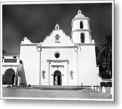 Old Mission San Luis Rey De Francia Metal Print by Glenn McCarthy Art and Photography