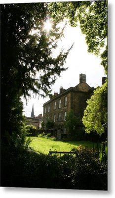 Old Victorian Mansion And Grounds - Peak District - England Metal Print