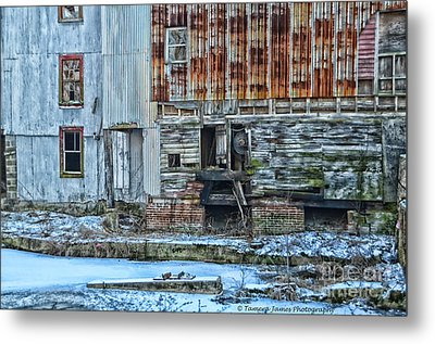 Oldmill Metal Print by Tamera James