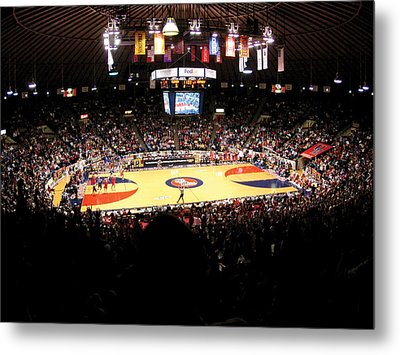 Ole Miss Rebels C.m. 'tad' Smith Coliseum Metal Print by Replay Photos