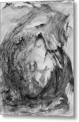 Ole Toothy Wings Metal Print by Christophe Ennis