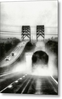 On The Road Again Metal Print by Robert  FERD Frank