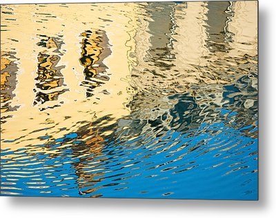 Once Upon A Canal Metal Print by Joan Herwig