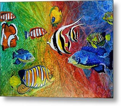 One Fish Two Fish Metal Print by Liz Borkhuis