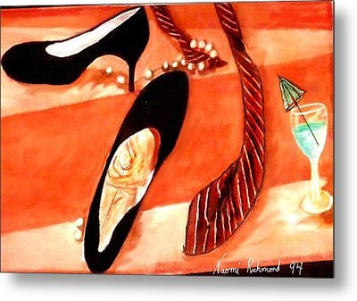 One Night Stand Metal Print by Naomi Richmond