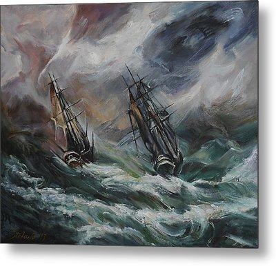 Open Sea - Dangerous Drift II Metal Print by Stefano Popovski