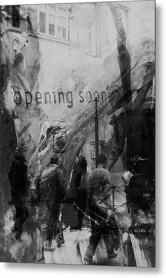 Metal Print featuring the photograph Opening Soon by Jim Vance