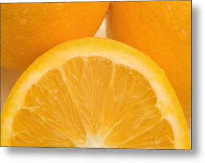 Oranges Metal Print by Darren Greenwood