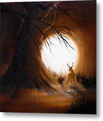 Out For The Hunt Metal Print by David Kacey