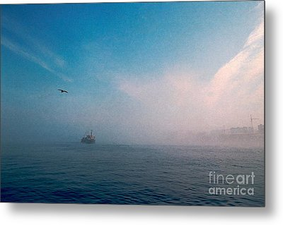 Out Morning At Sea  Metal Print by Evgeniy Lankin