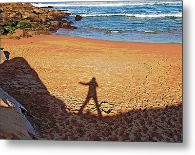 Metal Print featuring the photograph Out Of The Shadow by Ankya Klay