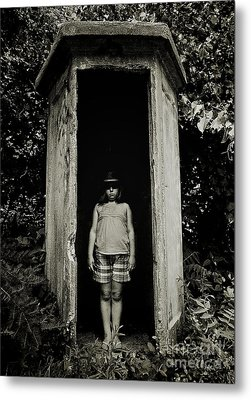 Out Of The Shadows Metal Print by Mark Miller