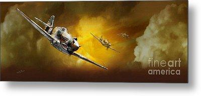 P-40 Metal Print by Tony Pierleoni
