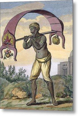 Paeni Caori , From Voyage Aux Indes Et Metal Print by Pierre Sonnerat