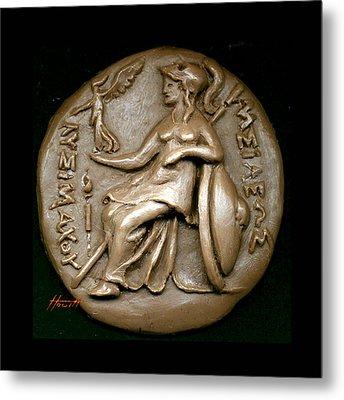 Pallas Athene 2 Metal Print by Patricia Howitt