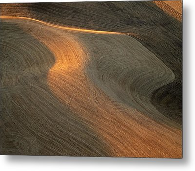Palouse Contours II Metal Print by Latah Trail Foundation