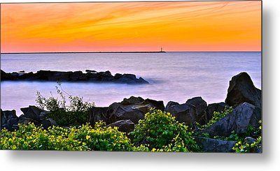Panoramic Beauty Metal Print by Frozen in Time Fine Art Photography