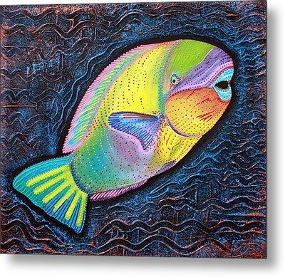 Parrotfish Metal Print