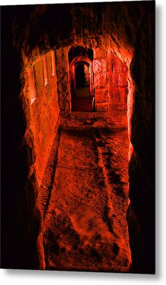 Passage To Hell Metal Print by Karol Livote
