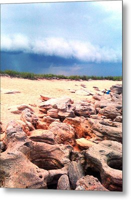 Passing Storm Metal Print by Julie Wilcox