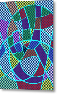 Metal Print featuring the digital art Peace 5 Of 12 by Randall Henrie