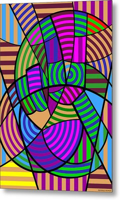 Metal Print featuring the digital art Peace 6 Of 12 by Randall Henrie