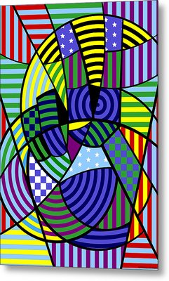 Metal Print featuring the digital art Peace 8 Of 12 by Randall Henrie