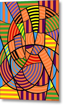 Metal Print featuring the digital art Peace 9 Of 12 by Randall Henrie