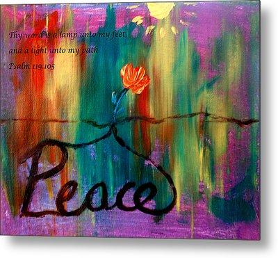 Peace Metal Print by Amanda Dinan