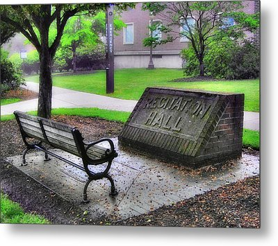 Peace Time Metal Print by Luis A Vera