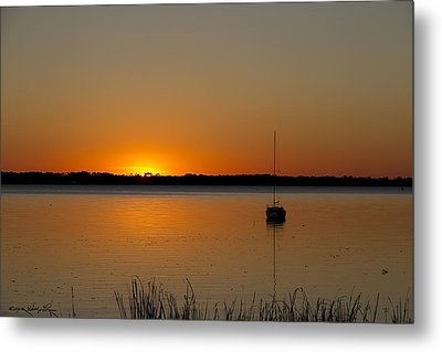 Peaceful Place Metal Print by Kathy Ponce