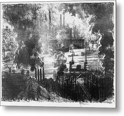 Pennell Munitions River, 1916 Metal Print
