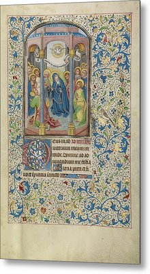 Pentecost Willem Vrelant, Flemish, Died 1481 Metal Print by Litz Collection