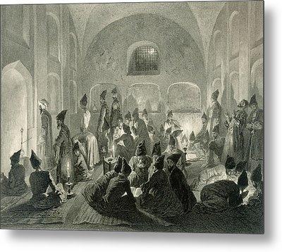 Persian Mosque At Yerevan, Armenia Metal Print by Grigori Grigorevich Gagarin