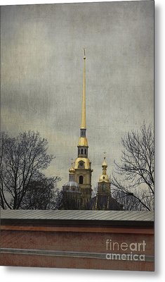 Peter And Paul Fortress Metal Print by Elena Nosyreva