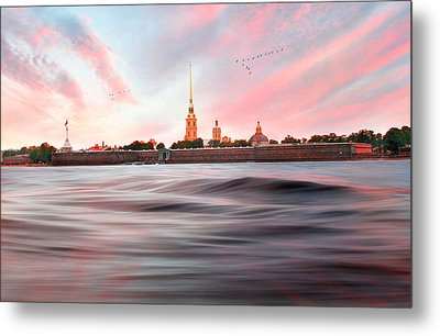 Peter And Paul Fortress Metal Print by Roy  McPeak