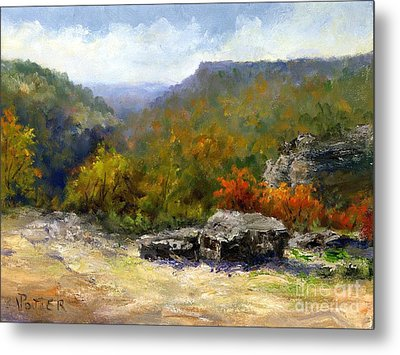 Petit Jean View From Mather Lodge Metal Print