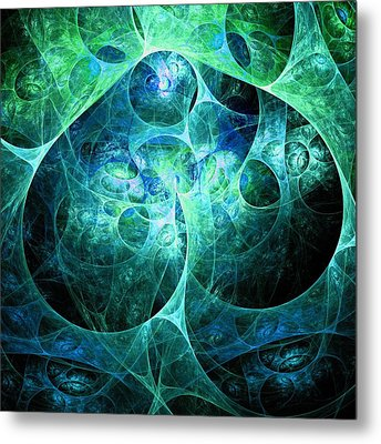 Phosphorescence Metal Print by Anastasiya Malakhova