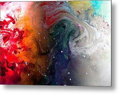 Pi Galaxy Metal Print by Petros Yiannakas