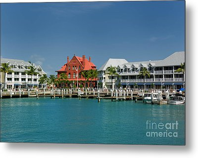 Pier Key West Florida Metal Print by Amy Cicconi