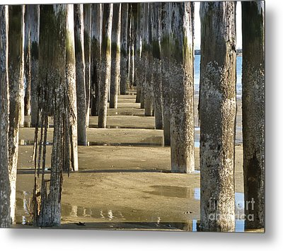 Pier Pressure Metal Print by K L Kingston