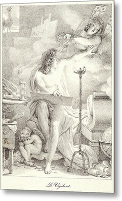Pierre Guérin French, 1774 - 1833. The Vigilant One Le Metal Print