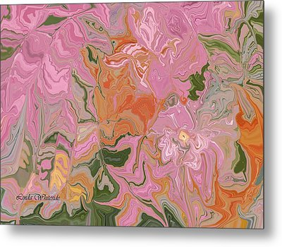 Pink Jungle Metal Print